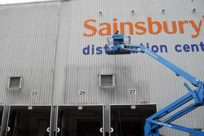 Cherry picker hire in the South East